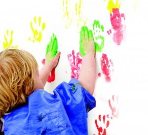 finger paint neon finger paint