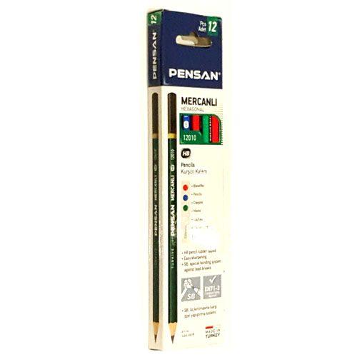 Pensan Mercanli HB Pencil 12 Pack