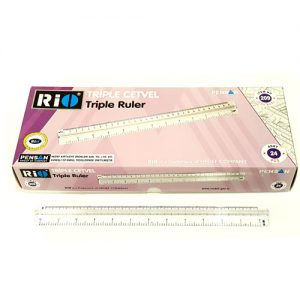 School and Office Tripple Ruler