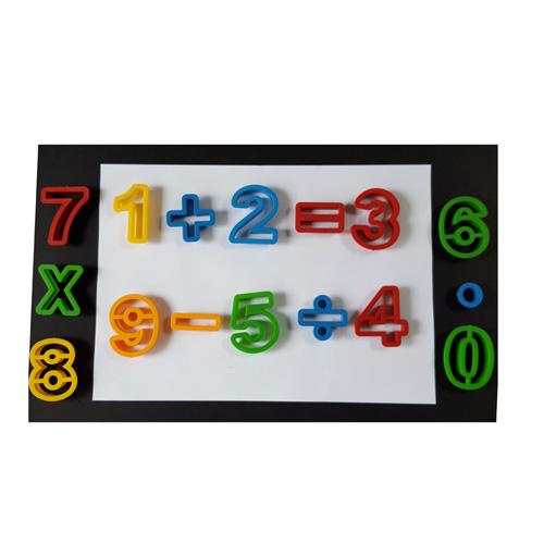 playdough numbering tools